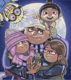 despicable me by Leen-galeas on DeviantArt Cartoon Movies, Disney Movies, Disney Pixar, Funny Cartoons, Cartoon Humor, Despicable Me Gru, Birthday Fun, Illustration Art, Illustrations