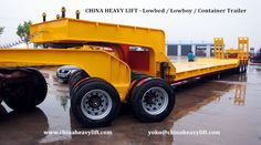 http://www.chinaheavylift.com/lowbed-trailer/  CHINA HEAVY LIFT Lowbed Trailer is widely used for carrying 40-150 Tons loads. Pool Type Platform, Flat platform, front loading types can be produced in different dimensions according to your demand and we have a flexibility on the technical specifications.   – 2 axle Lowbed Trailer – 3 axle Lowbed Trailer – 4 axle Lowbed Trailer – Extendable Lowbed Trailer – One Line Two Axle Lowbed Trailer  Email : yoko@chinaheavylift.com Tel : +86 137 7422…