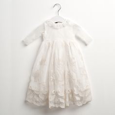 Going to have another baby girl JUST to buy this dress Sainte Claire, Kid Styles, Little Girls, Special Occasion, Tulle, Flower Girl Dresses, Knitting, Wedding Dresses, Sweet