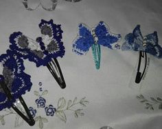 Clip con farfalle