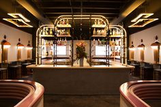 Home Studios Design New Bibo Ergo Sum Cocktail Bar in West Hollywood