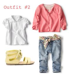I absolutely love the jeans and yellow sandals! Little Girl Fashion, Toddler Fashion, Kids Fashion, Cute Outfits For Kids, Toddler Outfits, Baby Kids Wear, Baby Girls, Yellow Sandals, Yellow Shoes
