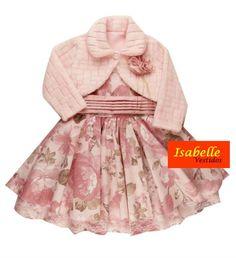 Vestido Infantil Soft Luxo com Bolero - Tam 1 / 4 <br> <br>TAMANHOS===> 1 / 2 / 3 e 4 <br> <br>* Vestido infantil <br>*Excelente acabamento <br>*Tecido 75% algodão e 25% Poliester <br>* Após a compra informar o tamanho desejado <br> <br>TABELA APROXIMADA DE MEDIDAS <br> <br>Tam 1: Cintura 52 cm---Busto 53 cm---Comprimento 54 cm <br>Tam 2: Cintura 54 cm---Busto 55 cm---Comprimento 60 cm <br>Tam 3: Cintura 56 cm---Busto 57 cm---Comprimento 63 cm <br>Tam 4: Cintura 58 cm---Busto 59…