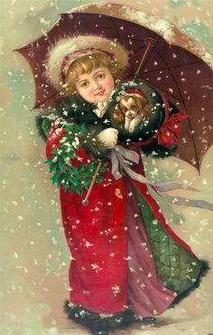 Immagini Vittoriane Natalizie.467 Fantastiche Immagini Su Natale Vittoriano Natale