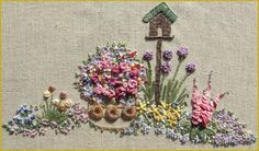 In an English Country Garden Needlecase Full Kit by lornabateman22, $84.95