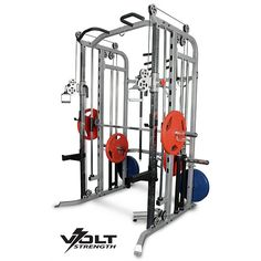 Features the three main exercise structures; Smith Machine, Power Rack and Functional Trainer, plus many more