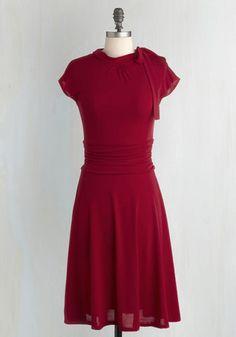 74365719572 FOLTER INC Dance Floor Plus Size Date Dress in Scarlet 1950s