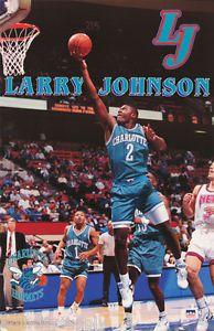 Larry Johnson Charlotte Hornets