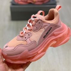 Latest Sneakers, Sneakers Fashion, Shoes Sneakers, Shoes Heels, Balenciaga Sneakers, Aesthetic Shoes, Hype Shoes, Sneaker Heels, Fashion Shoes