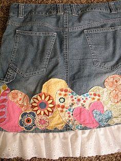 Cute jean idea