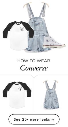 """Untitled #646"" by catstyles-946 on Polyvore featuring Converse"