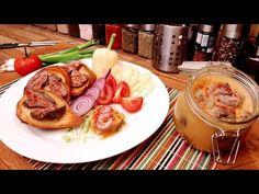 Csirkemáj zsírjában , hideg csirkemáj / Szoky konyhája / - YouTube Fried Cabbage, Sausage, Fries, French Toast, Appetizers, Food And Drink, Cooking Recipes, Dishes, Breakfast