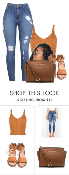 """11:06 "" by gawdesz ❤ liked on Polyvore featuring MICHAEL Michael Kors"
