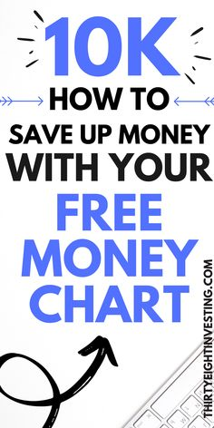 Save 10k with this free money chart! Learn how to quickly save up $10,000 in one year! The free money savings printable will help you to stay on track as you save up 10k in 1 year! Savings Chart, Savings Plan, Money Chart, Stay On Track, Money Challenge, Personal Finance, Free Money, 1 Year, Saving Money