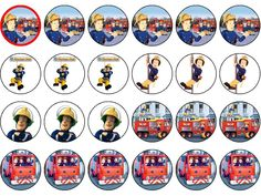 Pin Fireman Sam Logo Cake Picture To Pinterest