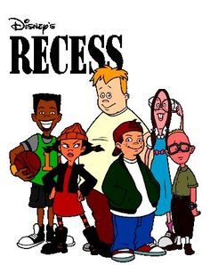- Disney really captured the essence of childhood with this cartoon series. Disney Channel Stars, Disney Stars, 90s Stars, Recess Cartoon, Cartoon Tv Shows, Cartoon Characters 90s, Disney Cartoons, 1990s Cartoons, Cool Cartoons