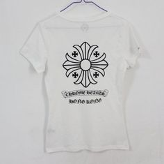 1403a24478a1 Chrome Hearts T-shirt Scroll BS Flare Black V Neck  Chrome Hearts T-shirt  Scroll BS  -  137.69   Chrome Hearts On Sale