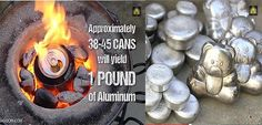Let's melt some metal! The King Of Random has done it again by building a homemade metal foundry with a steel crucible that will melt aluminum cans with over 1000 degrees of heat provided by regular old charcoal and a hair dryer. Grant Thompson decided to build a homemade metal foundry from a mixture of …