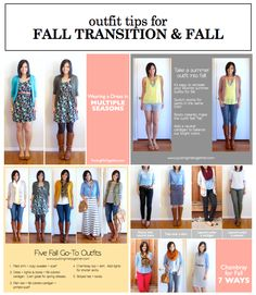 Resources to Dress for the Fall Transition and Fall