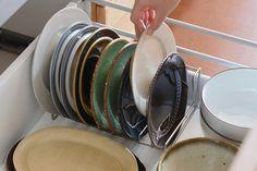 ディッシュスタンド (家事問屋×cotogoto)   その他の台所の道具   cotogoto コトゴト Kitchen Tools, Diy Kitchen Appliances, Kitchen Gadgets, Kitchen Supplies
