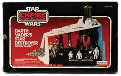 Darth Vader's star destroyer action playset R.