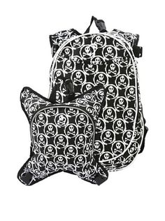 65% OFF O3 Munich Backpack with Detachable Lunch Cooler (Skulls)