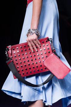 Versace, Spring 2017 - Milan's Chicest Runway Handbags - Photos