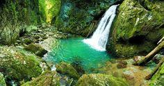 Cascada Evantai, Cheile Galbenei din Muntii Apuseni. Romania