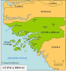 Languages In Guinea GuineaBissau Sierra Leone And Liberia - Guinea bissau clickable map