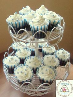 Baby Shower Cupcake https://www.facebook.com/Dulcecatering.mesasdulces?ref=hl