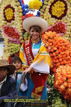 Desfile de las Rosas - Cayambe #Ecuador