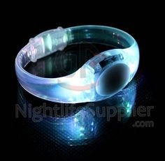 LED Sound Activated Bracelet - Nightlife Supplier