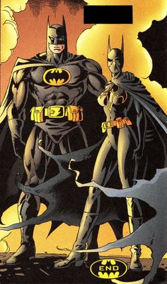Batman And Batgirl.......