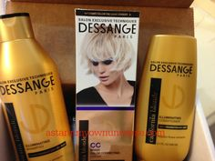 My review of Dessange California Blonde hair care