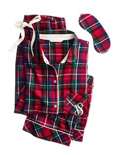 The Dreamer Flannel Pajama - Victoria's Secret  Sz M Long- These are my Favorite Pajamas!
