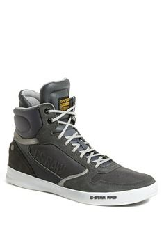 G-Star Raw 'Yard Pyro' Sneaker available at High End Mens Shoes, High Top Sneakers, Star Shoes, Men's Shoes, G Star Raw, Shoe Shop, High Tops, Nordstrom, Yard