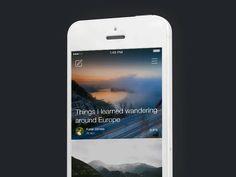 Secret App by Alex Ivanov Mobile App Design, Mobile Ui, Android Animation, App Design Inspiration, Exploration, User Experience Design, Ui Web, User Interface Design, Interactive Design