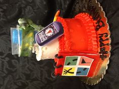 Geocaching cake made by @The Cake Shop http://www.bakerysweets.com