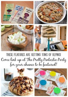 Join us at the Pretty Pintastic Party - where every link gets pinned!