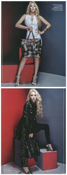 CL ON HARPER'S BAZAAR MAGAZINE OCTOBER 2014 ISSUE