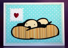 Puppy Card by CreatedforMe on Etsy, $3.50