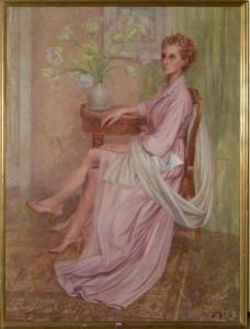 Maud Gérard: Portrait de dame