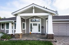 1000 Images About Craftsman Front Porch On Pinterest