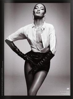 pinterest.com/fra411 #black #beauty - joan smalls