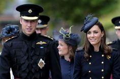 Kate Middleton Photos - Prince William and Kate Middleton at the Victoria Barracks 2 - Zimbio