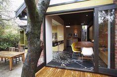 Diseño arquitectónico y neutral de una casa