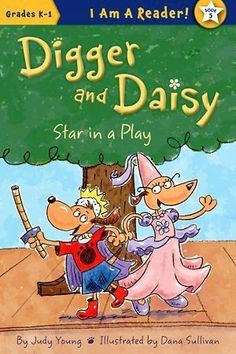 Don't forget your lines! Digger and Daisy Star in a Play
