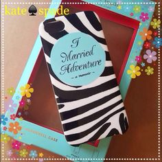 kate spade♠ iPhone 5/5s Case Brand new with box  Black and white striped  Hybrid hardshell case kate spade Accessories Phone Cases