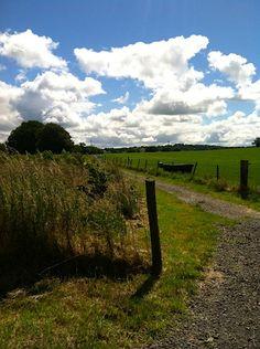 Fluffy #clouds in Ireland. #FriFotos