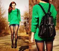Miracles Everywhere: ♥ Spring / Green day / Outfit ♥